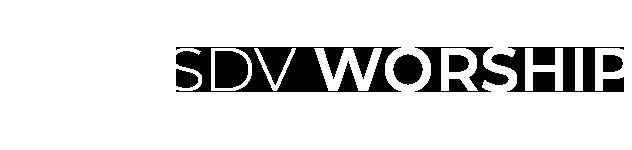 SDV WORSHIP Logo